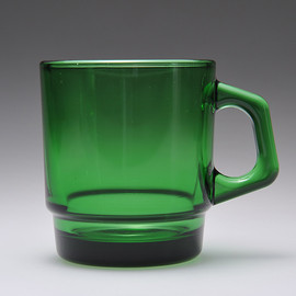 D-handle Mug Jadite