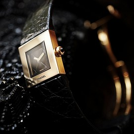 CHANEL - MATELASSE 1990'S VINTAGE WATCH