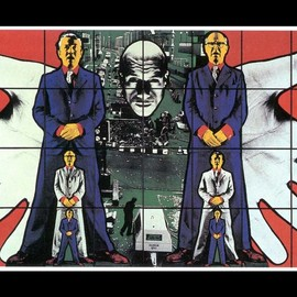 GIlbert and George. - Artistic Wallpaper