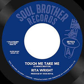 """Rita Wright - Touch Me Take Me / Love Is All You Need (Vinyl, 7"""", 45 RPM, Reissue)"""