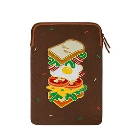 Wiggle Wiggle - Laptop Sleeve - Toast