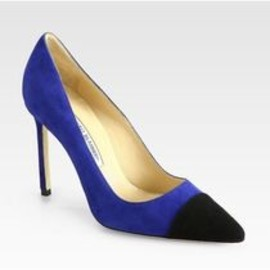 Manolo Blahnik - Suede pumps