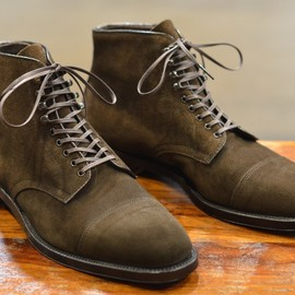 ALDEN - Cap toe boot