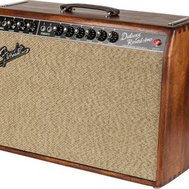 Fender - '65 Deluxe Reverb® FSR 'Mahogany Cane' African Mahogany with Cane grille