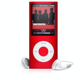 Apple - iPod nano 4th 16GB (PRODUCT) RED