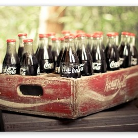 Coca-Cola - Old Coca Cola Bottles