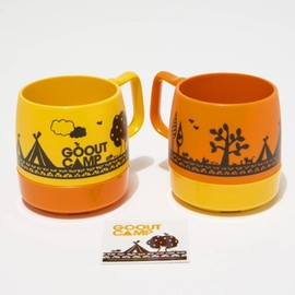 GO OUT - Pair MUG CUPS with ステッカー