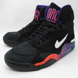 NIKE - AIR FORCE 180 MID - BLACK/PURPLE (Sample)
