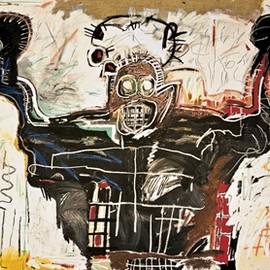 Jean-Michel Basquiat - Untitled (Boxer)