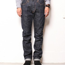 nonnative - DWELLER 5P JEANS - COTTON 12.5 oz SELVEDGE DENIM NW by Stevenson overall Co.