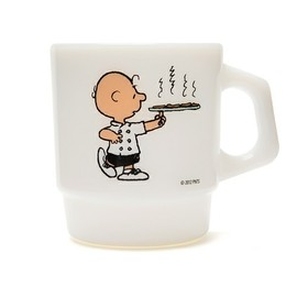 "Fire King - STACKING MUG ""CAFE/CHARLIE BROWN"""
