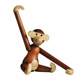 カイ・ボイスン - Wooden monkey, small