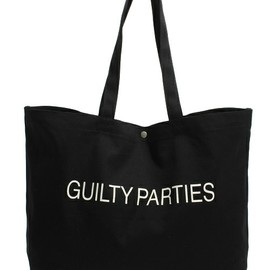 WACKO MARIA, PORTER - PRINT TOTE BAG WIDE (GUILTYPARTIES)