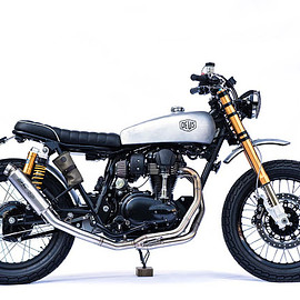 "Deus Ex Machina - ""The Different Twins"" / Kawasaki W800"