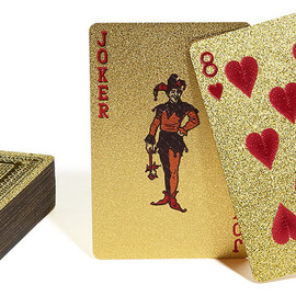 Supreme - Gold Deck of Cards