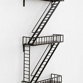 uncommongoods - Fire Escape Shelving