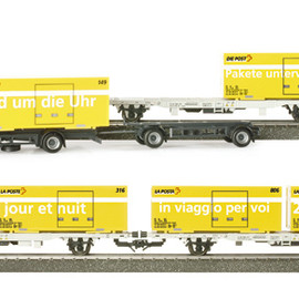 herpa - Swiss Post containers