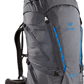 Arc'teryx - Nozone 75 Lightweight, comfortable and robust backpack, designed for climbing specialists or expert alpine users to haul larger loads.