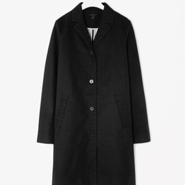 COS - Waxed cotton coat