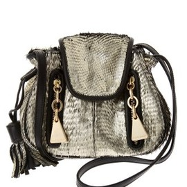 SEE BY CHLOE - [CHERRY FEATHER] LEATHER BAG