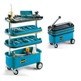 Hazet - HZ166N Collapsible Tool Trolley