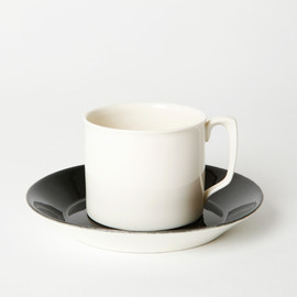 BRANKSOME CHINA - TEA CUP & SAUCER WHITE
