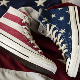 """CONVERSE First String - CONVERSE CHUCK TAYLOR 1970 """"STARS AND BARS"""""""
