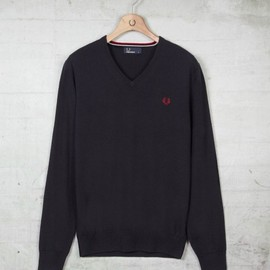 Fred Perry - Classic Tipped V Neck Sweater