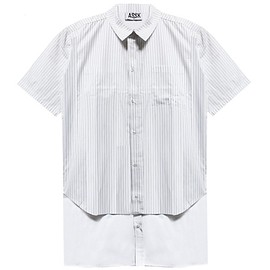 assk - GLOBAL Double Shirt - White