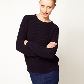 American Apparel - Image 1 of American Apparel Fisherman's Sweater