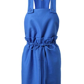 CARVEN - COTTON PINAFORE DRESS