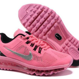 Air Max+ 2013 Pink Grey Nike Womens Size Shoes