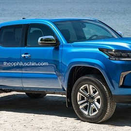 TOYOTA - Lexus LXT renderings Pick-up