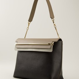 CHLOÉ - Clare colour block handbag