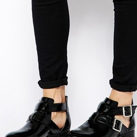 Asos - Adrift Cut Out Ankle Boots