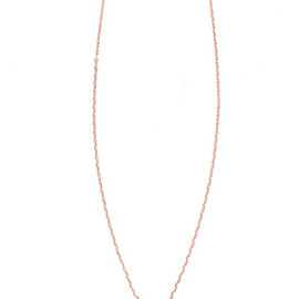Sister - 【Maria Francesca Pepe】THIN CHAIN WITH HEART-CROSS CHARM AND SWAR DETAIL