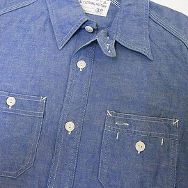 FULLCOUNT - FULLCOUNT Chambray Shirts