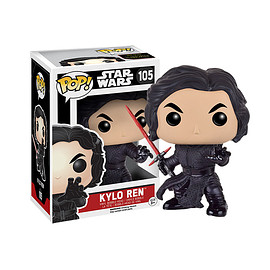 FUNKO - POP! - Star Wars Series: Star Wars The Force Awakens -  Kylo Ren (Unmasked Version)