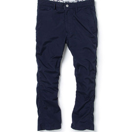nonnative - LABORER BOOT CUT PANTS - C/P WEATHER CLOTH