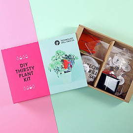 Technology Will Save Us - DIY Thirsty Plant Kit