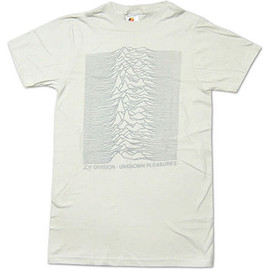 Joy Division - Unknown Pleasures T-shirt (v.white)