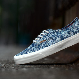 "VANS - Image of Vans California 2013 Fall Authentic ""Paisley"" Pack"