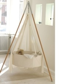 LEANDER - suspended cradle, with tripod