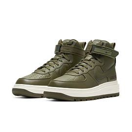 NIKE - Air Force 1 GTX Boot - Medium Olive/Seal Brown/Sail
