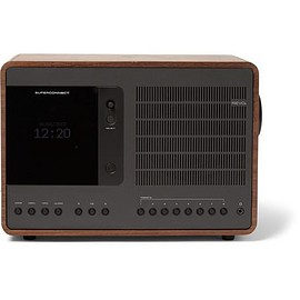 Revo - SuperConnect Walnut and Aluminium WiFi/DAB/DAB+/FM Table Radio