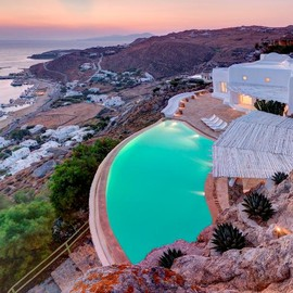 Mykonos, Greece - White Luxury house