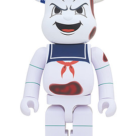 "MEDICOM TOY - BE@RBRICK STAY PUFT MARSHMALLOW MAN ""ANGER FACE"" 1000%"