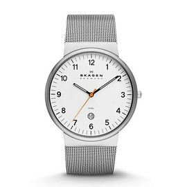 SKAGEN - KLASSIK MEN'S THREE-HAND DATE STAINLESS STEEL WATCH