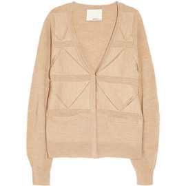 3.1 Phillip Lim - 3.1 Phillip Lim Folded-front wool cardigan