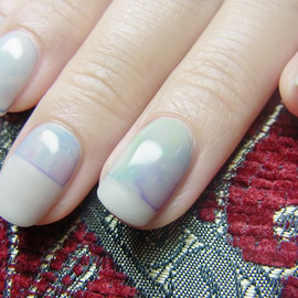 mix contemporary nail